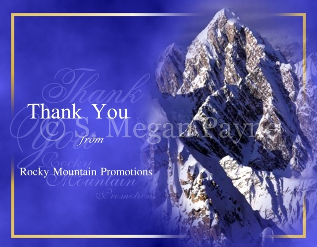 Customized Card_Nature Expressions_Rocky Mountain Promotions Thank You